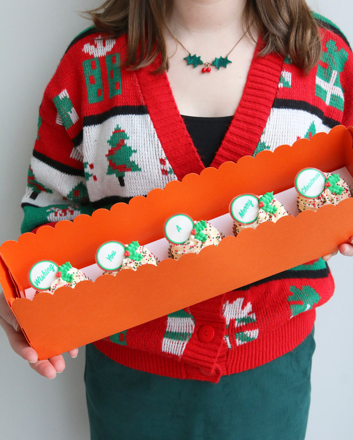 Say It With Cake...Christmas Cupcakes