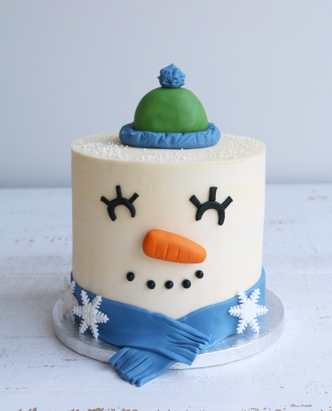 Tremendous Frosty The Snowman Cake Claygate Surrey Afternoon Crumbs Personalised Birthday Cards Petedlily Jamesorg