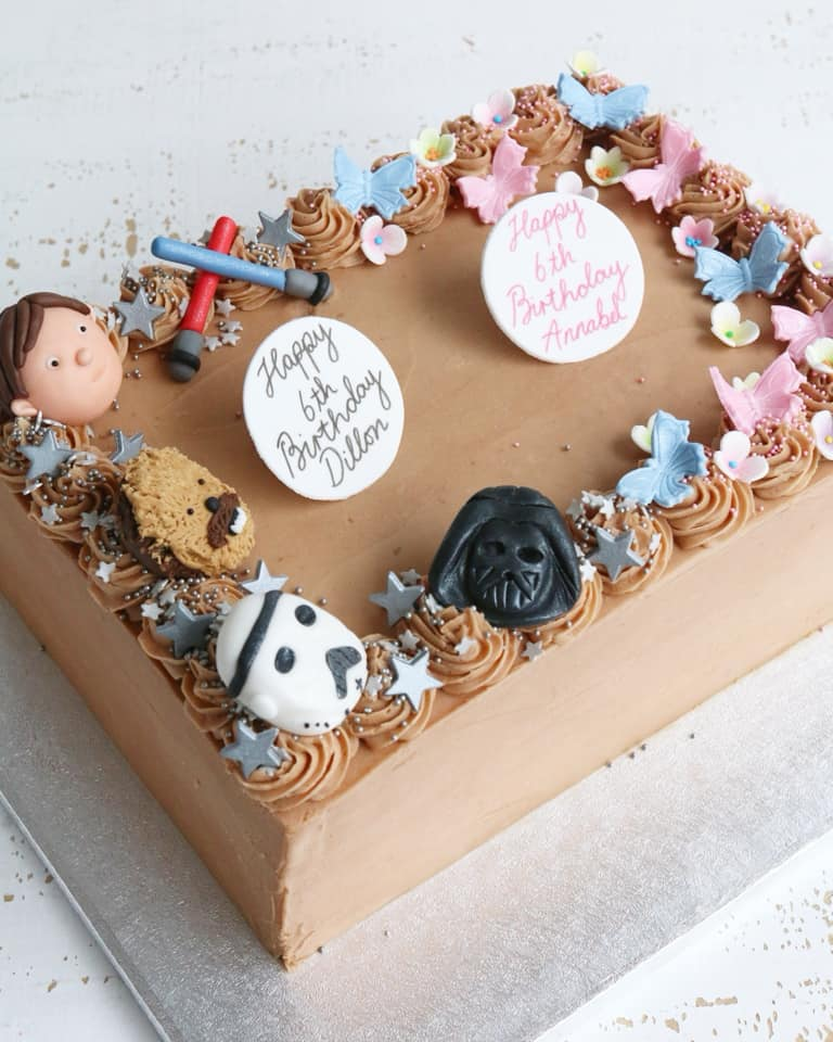 Remarkable Buttercream Celebration Cakes Afternoon Crumbs Claygate Surrey Funny Birthday Cards Online Inifofree Goldxyz