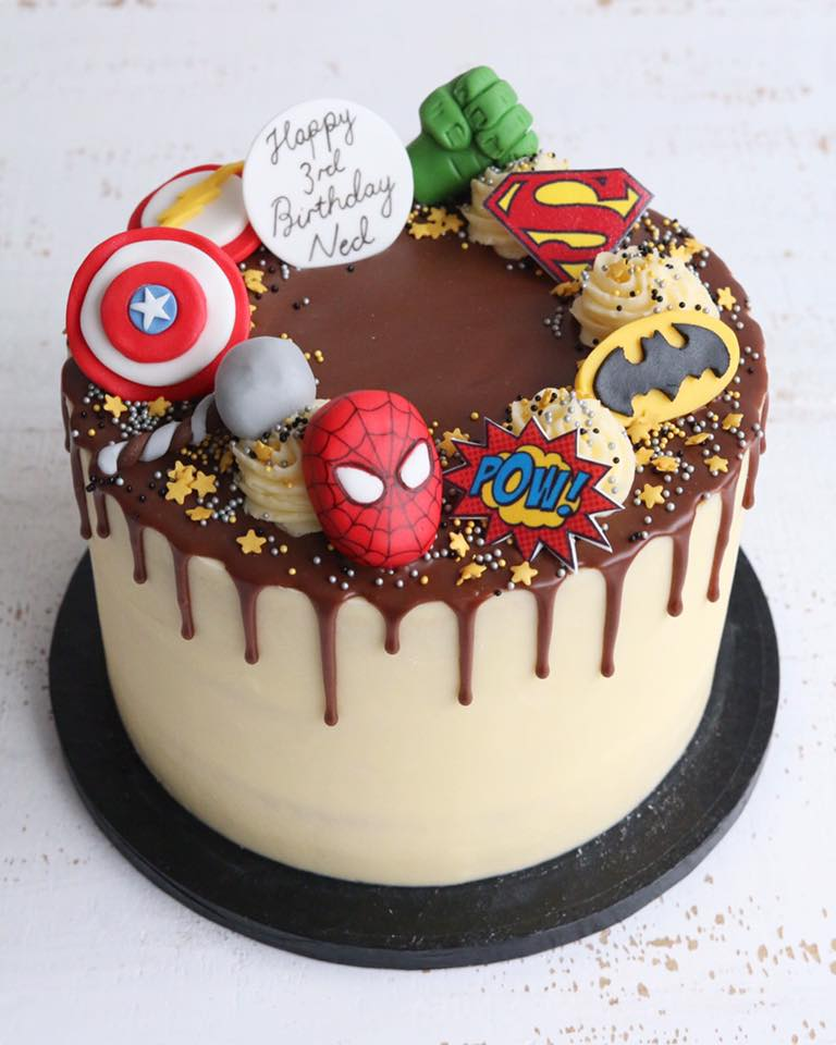 Superhero Cakes Cupcakes Claygate Surrey Afternoon Crumbs