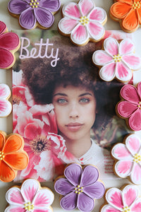 Betty Magazine Flower Biscuits