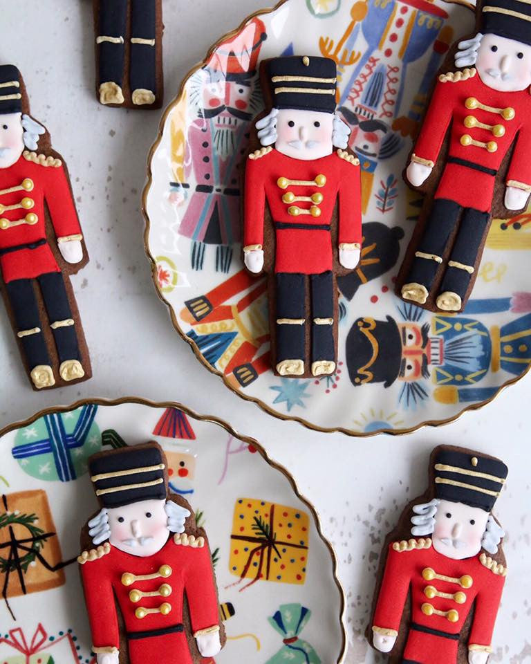 Nutcracker Gingerbread Biscuits
