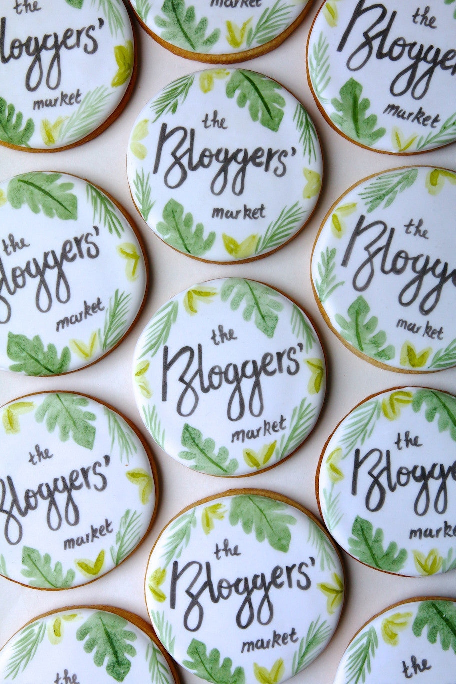 Bloggers Market Branded Biscuits