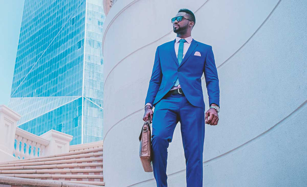 The Five Accessories To Wear With A Blue Suit - A Modern Man's Guide