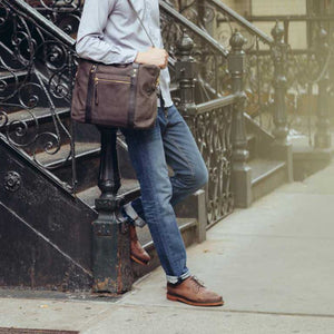 Shop messenger bags for men at Modern Man Outfitters
