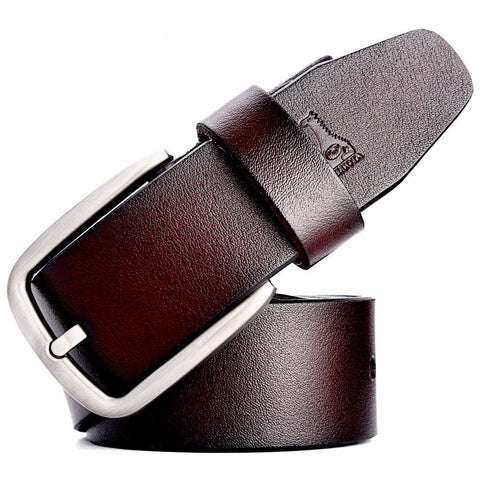 Modern Man Outfitters - Dark Brown Leather Belt