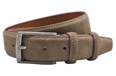 Suede Leather Belt - Modern Man Outfitters Mens Accessories