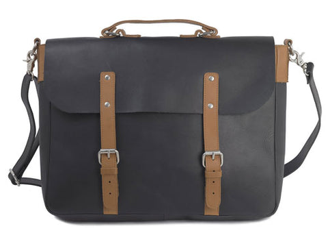 Shop men's briefcases and messenger bags at Modern Man Outfitters