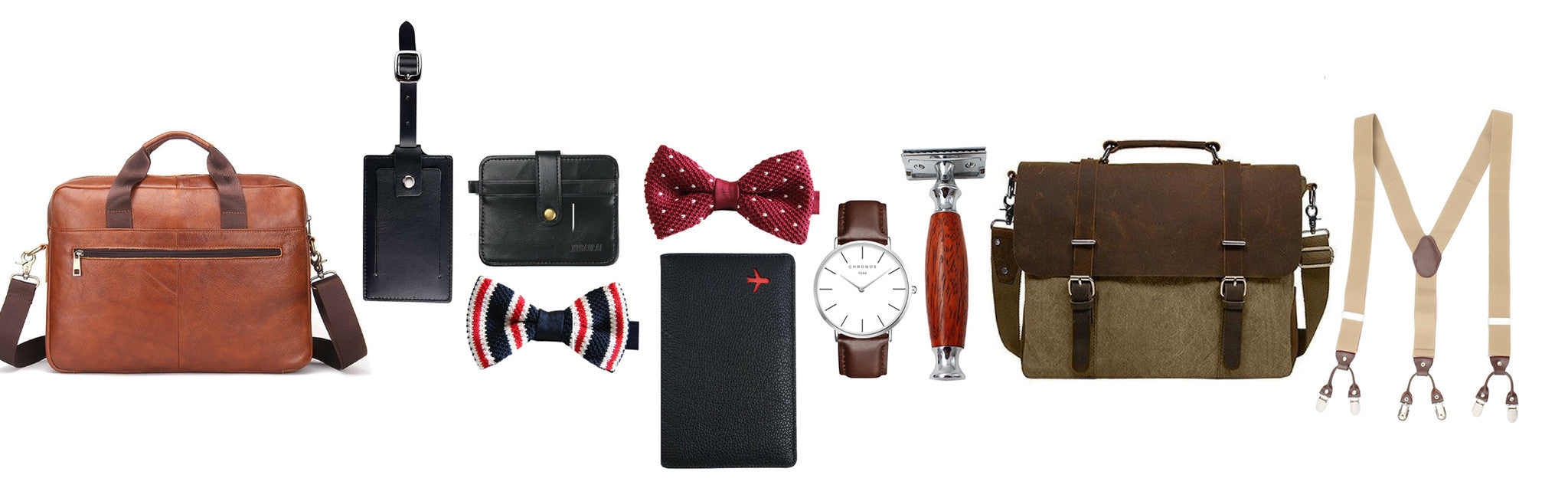 Men's accessories collection - modern man outfitters
