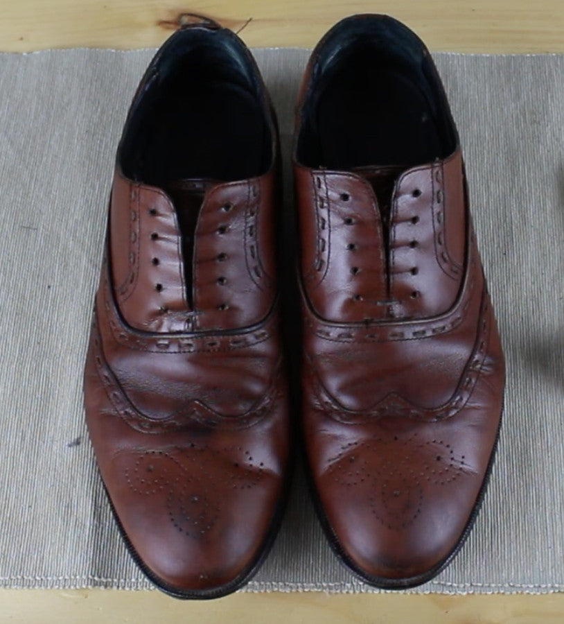 Step two - Mens shoe polishing guide - Men's Accessories