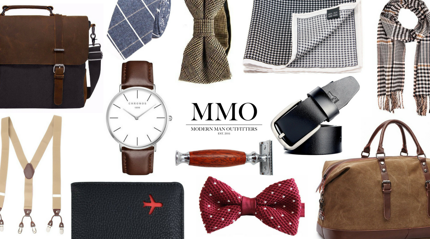 MMO men's accessories collage