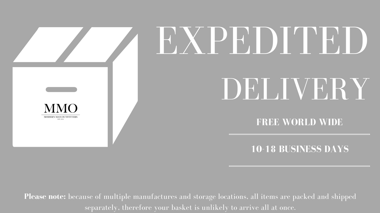 Shipping & Delivery Information - Men's Accessories - Modern Man Outfitters