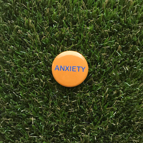 Anxiety button - Double Denim Dude