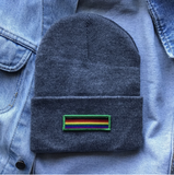 Gay Pride Patch Beanie