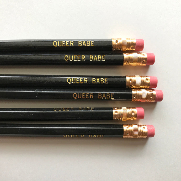 Queer Babe Pencils