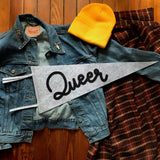 Queer Pennant--Limited Edition - Double Denim Dude