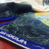 'Shogun Tao' premium Shogun Fight BJJ Gi White - Shogun Fight Apparel