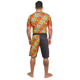 Grand Koi Short Sleeve BJJ Rashguard