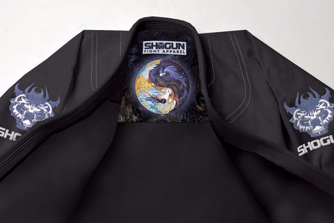 Shogun Tao Competition BJJ Gi - Black - Shogun Fight Apparel