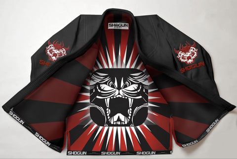 The 'Shogun Red' BJJ Gi - Shogun Fight Apparel