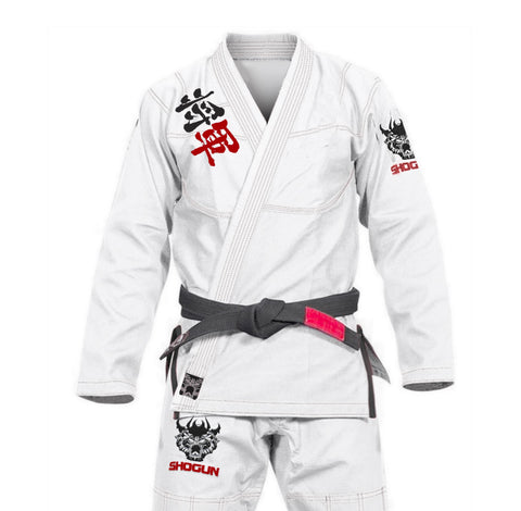 Shogun 'Kanji' Ultra-Light White - IBJJF Approved BJJ Gi