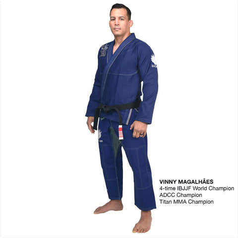 Shogun 'Kanji' Ultra-Light Blue and Silver BJJ Gi