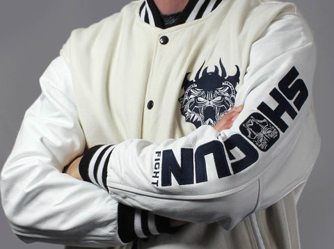 Shogun Fight Team - Varsity Bomber Jacket - Shogun Fight Apparel