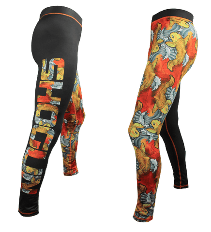 Shogun Koi BJJ Spats - Shogun Fight Apparel