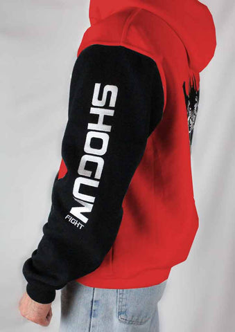 Shogun Logo 'Red Panda' Zipper Hoodie - Shogun Fight Apparel