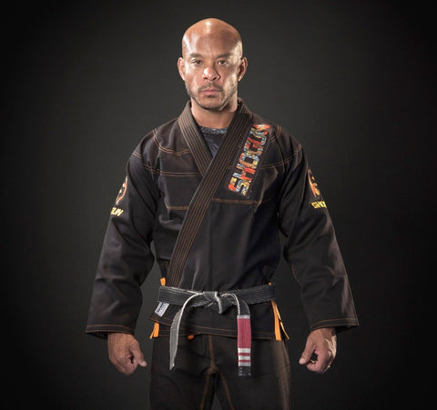 Grand Koi BJJ gi in black