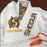 White BJJ Gi - Grand Koi Gi