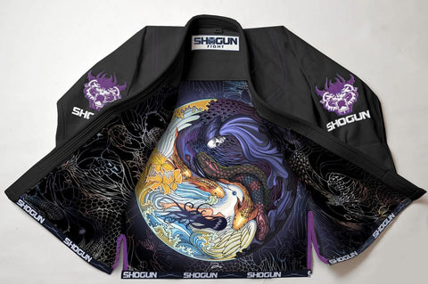 'Shogun Tao' premium Shogun Fight BJJ Gi - Black - Shogun Fight Apparel