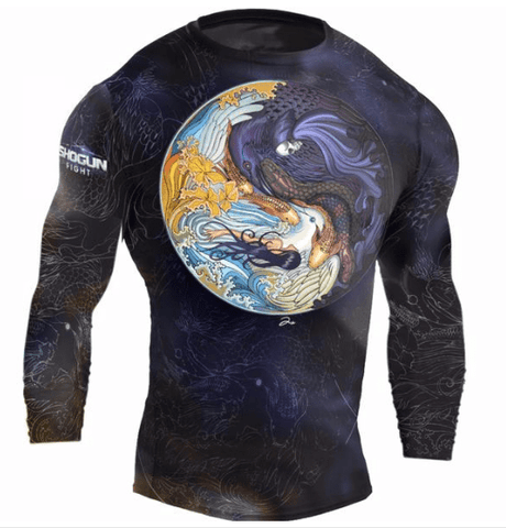 Tao BJJ long sleeve Rashguard