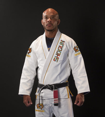 Shogun Grand Koi White BJJ gi