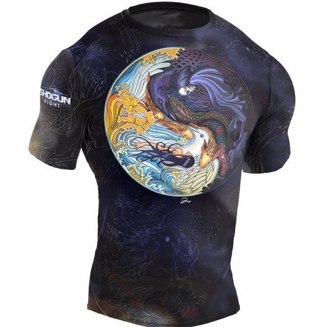 'Shogun Tao' BJJ Rashguard - Shogun Fight Apparel