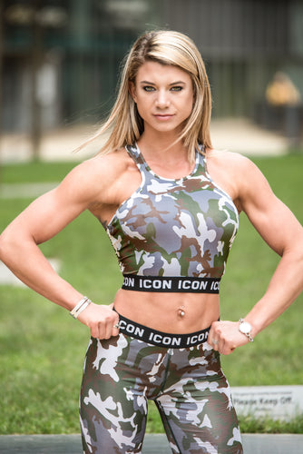 ICON Camo Sports Crop Top
