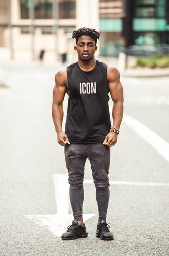 ICON Tank Top - Black