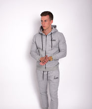 Icon Grey Fitted Joggers