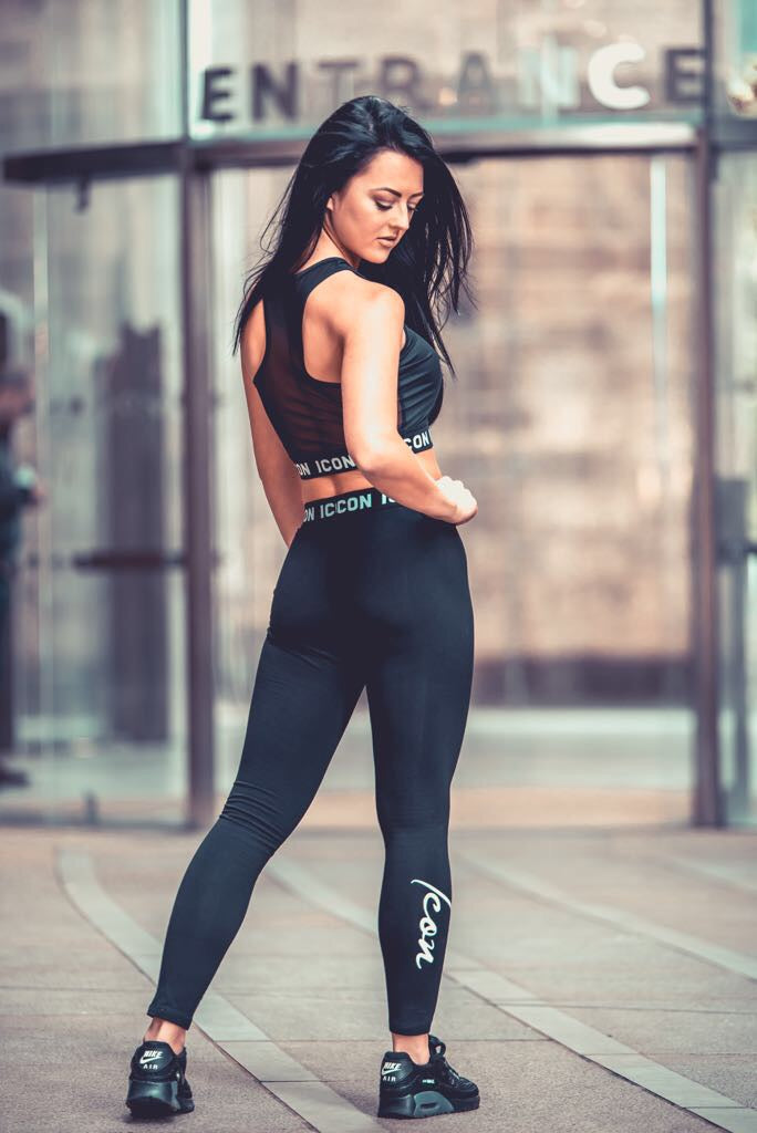 Black ICON Leggings