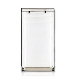 ATHome Lightweight, Durable, Dust and Moisture Proof, Easy Open Portable Closet Wardrobe, 28 inches. White