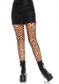 Bordeaux Net Tights - 5inchesorbettershoes