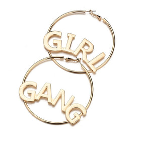 Girl Gang Earrings - 5inchesorbettershoes