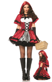 Naughty Red Riding Hood - 5inchesorbettershoes