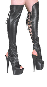 Tammy-5-Black leather thigh high Tony Shoes