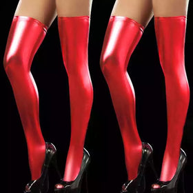 Spandex Thigh High Tights - 5inchesorbettershoes