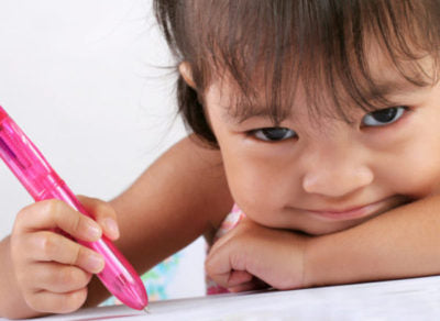 Toddlers begin learning rules of reading, writing at very early age, study finds