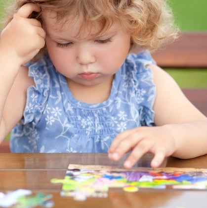 What Jigsaw Puzzles Tell Us About Child Development