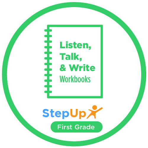Listen, Talk, and Write: First Grade (Set of 20 workbooks)