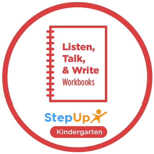 Listen, Talk, and Write: Kindergarten (Set of 20 workbooks)