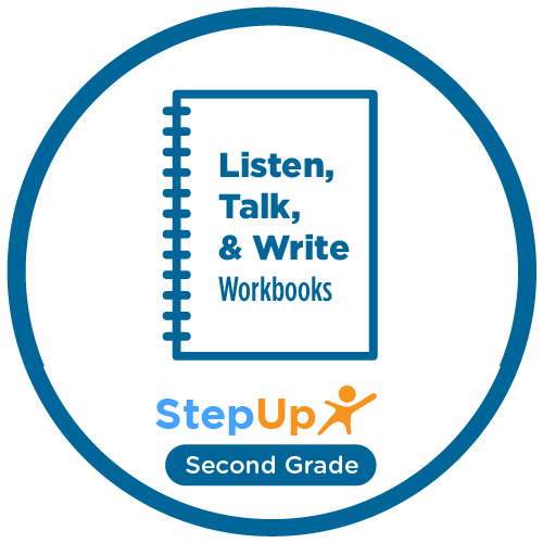 Listen, Talk, and Write: Second Grade (Set of 20 workbooks)